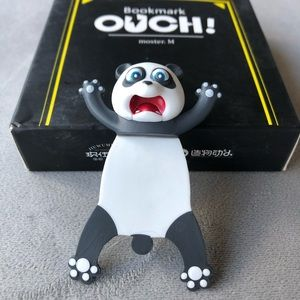 Panda Ouch! Bookmark ~ Brand New!